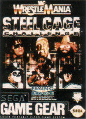 WWF Wrestlemania Steel Cage Challenge for Sega Game Gear Game