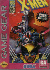 X-Men for Sega Game Gear Game