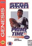 Prime Time NFL Football starring Deion Sanders for Sega Genesis Game