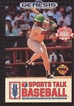 Sports Talk Baseball for Sega Genesis Game