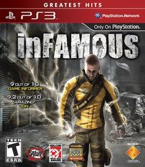 Infamous for Playstation 3 Game