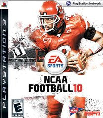 NCAA Football 10 for Playstation 3 Game