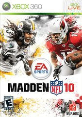 Madden NFL 10 for Xbox 360 Game
