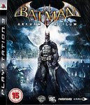 Batman: Arkham Asylum for Playstation 3 Game