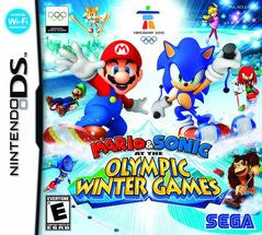 Mario and Sonic Olympic Winter Games for Nintendo DS Game