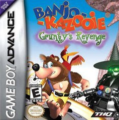 Banjo Kazooie Grunty's Revenge for GameBoy Advance Game