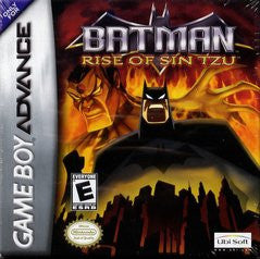 Batman Rise of Sin Tzu for GameBoy Advance Game