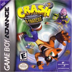 Crash Bandicoot 2 N-tranced for GameBoy Advance Game