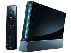 Black Nintendo Wii System for Wii System