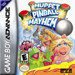 Muppet Pinball Mayhem for GameBoy Advance Game