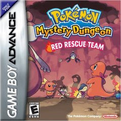 Pokemon Mystery Dungeon Red