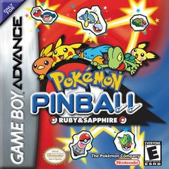 Pokemon Pinball Advance for GameBoy Advance Game