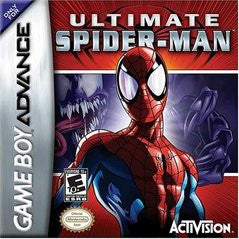Ultimate Spiderman for GameBoy Advance Game