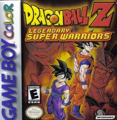 Dragon Ball Z Legendary Super Warriors for GameBoy Color Game