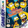 The Simpsons Night of the Living Treehouse of Horror for GameBoy Color Game