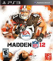 Madden NFL 12 for Playstation 3 Game
