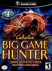 Cabela's Big Game Hunter 2005 Adventures for Gamecube Game