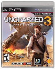 Uncharted 3: Drake's Deception for Playstation 3 Game