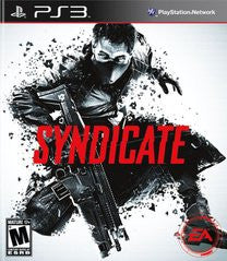 Syndicate for Playstation 3 Game