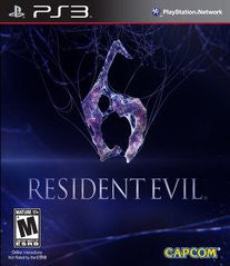 Resident Evil 6 for Playstation 3 Game