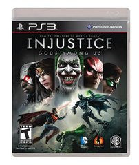 Injustice: Gods Among Us for Playstation 3 Game