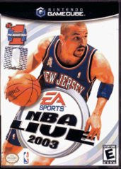 NBA Live 2003 for Gamecube Game