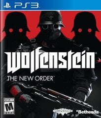 Wolfenstein: The New Order for Playstation 3 Game