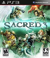 Sacred 3 for Playstation 3 Game