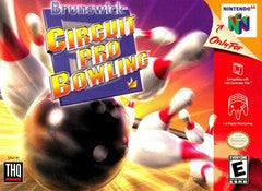 Brunswick Circuit Pro Bowling for Nintendo 64 Game