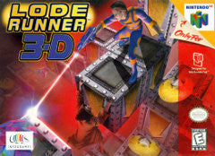 Lode Runner 3D for Nintendo 64 Game