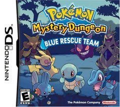 Pokemon Mystery Dungeon Blue