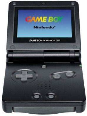 Black Game boy Advance SP