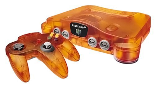 Atomic Orange Nintendo 64