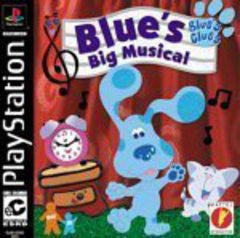 Blue's Clues Blue's Big Musical for Playstation Game