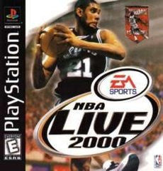 NBA Live 2000 for Playstation Game