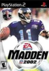 Madden 2002 for Playstation 2 Game