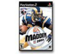 Madden 2003 for Playstation 2 Game