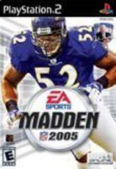 Madden 2005 for Playstation 2 Game