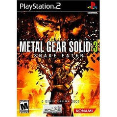 Metal Gear Solid 3 Snake Eater for Playstation 2 Game