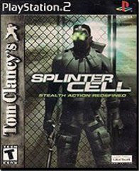 Splinter Cell for Playstation 2 Game