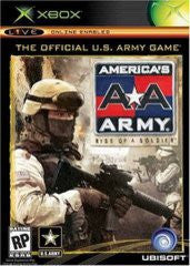 Americas Army Rise of a Soldier for Xbox Game