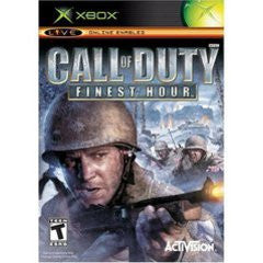 Call of Duty Finest Hour for Xbox Game