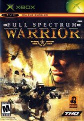 Full Spectrum Warrior for Xbox Game