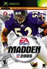 Madden 2005 for Xbox Game
