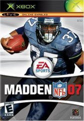 Madden 2007 for Xbox Game