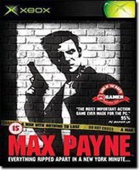 Max Payne for Xbox Game