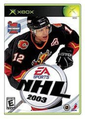 NHL 2003 for Xbox Game