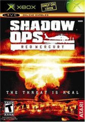 Shadow Ops Red Mercury for Xbox Game