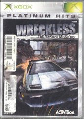 Wreckless Yakuza Missions for Xbox Game