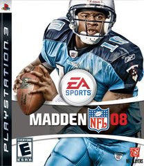 Madden 2008 for Playstation 3 Game